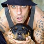 Rottweiler with celebrity
